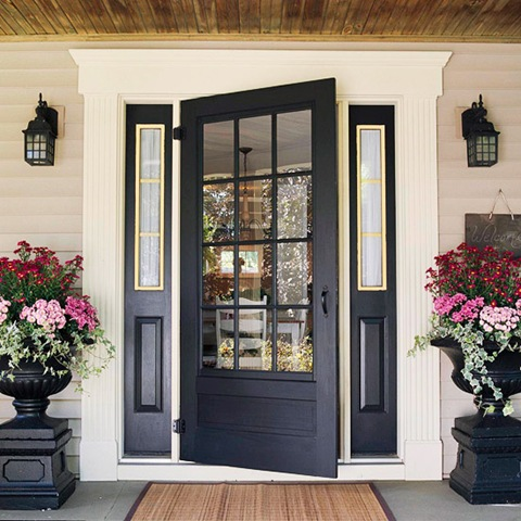 make an entrance with a great front door